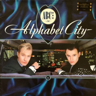 ABC - Alphabet City (LP) (VG/G-)